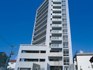 Modern houses by CAF垂井俊郎建築設計事務所 Modern