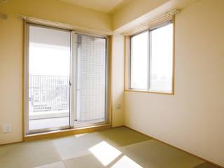 Modern style bedroom by CAF垂井俊郎建築設計事務所 Modern