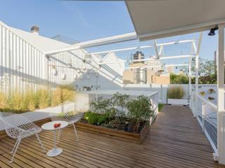 Balcones y terrazas modernos de Marantz Arquitectura Moderno