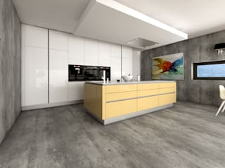 J.Dias KitchenCabinets & shelves MDF Yellow