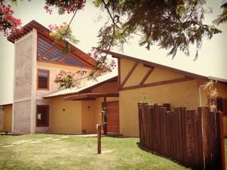 Casas de estilo rústico de Zani.arquitetura Rústico