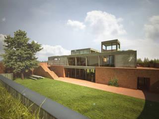Rumah Modern Oleh План_Б Modern