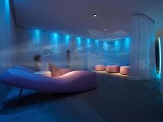 LE TERRAZZE SPA & WELLNESS GLIP | The Lighting Partner Hotel in stile minimalista