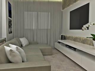 ミニマルデザインの 多目的室 の Atelier Par Deux ミニマル