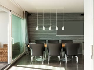 Deco-Daix Modern dining room Solid Wood Grey