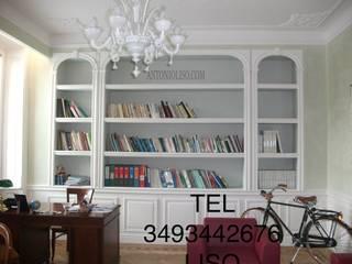 Klasyczne domowe biuro i gabinet od Antonio liso Klasyczny