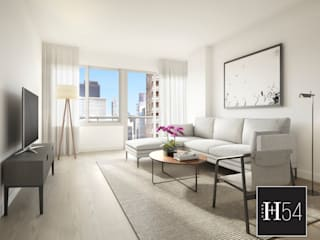 Aka United Nations, New York.: Hoteles de estilo  por Home54