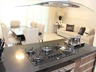 APARTAMENTO L'ESSENCE Salas de estar modernas por TL Arquitetura e Interiores Moderno