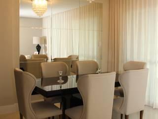 APARTAMENTO L'ESSENCE Salas de jantar modernas por TL Arquitetura e Interiores Moderno