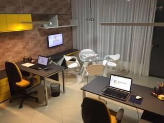 Escritório TL Arquitetura e Interiores Escritórios modernos por TL Arquitetura e Interiores Moderno