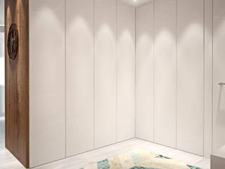 Pasillos, vestíbulos y escaleras de estilo moderno de Tiago Martins - 3D Moderno