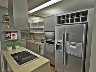 オリジナルデザインの キッチン の Atelier Par Deux オリジナル