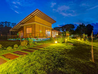 Rustic style houses by Zani.arquitetura Rustic