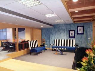 Rainbow Towers Modern office buildings by the karigars Modern