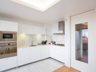 Uma cozinha com vista Architect Your Home Cozinhas modernas