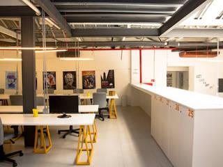 Projeto para Coworking - Distrito: Edifícios comerciais  por PPStudio - Espaços Criativos,Industrial