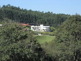 Residência Jardim das Palmeiras: Casas modernas por Bia Maia & Guta Carvalho Arquitetura, Design e Paisagismo