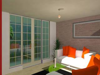Salas de estilo moderno de Taller Esencia Moderno