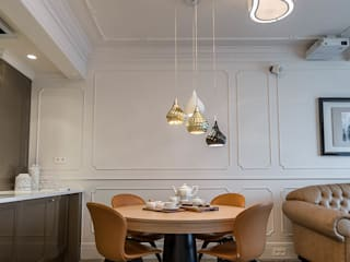 Meble do apartamentu w Krakowie: styl , w kategorii Jadalnia zaprojektowany przez Zirador - Meble tworzone z pasją