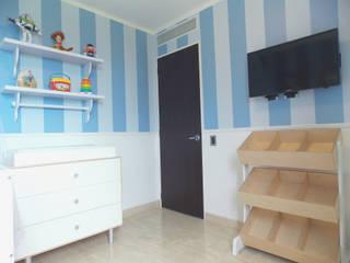 Nursery/kid's room by TRIBU ESTUDIO CREATIVO