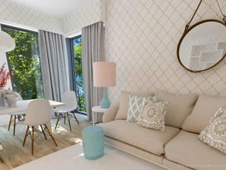 Projeto Decoração Sala - Pantone Colors 2016 Salas de estar ecléticas por Andreia Alexandre Interior Styling Eclético