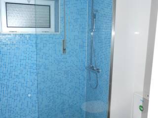 Remodelação de w.c Casas de banho modernas por Officina de Interiores Moderno