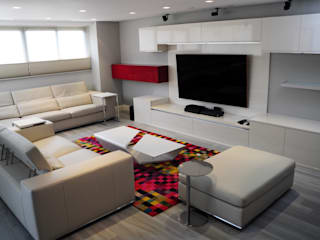 TRIBU ESTUDIO CREATIVO Modern living room