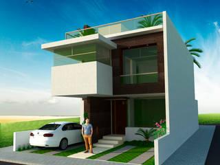 House BR Casas modernas de GT-R Arquitectos Moderno