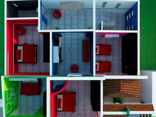 por GT-R Arquitectos Moderno