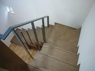旗竿地のコートハウス: 三浦尚人建築設計工房が手掛けた現代のです。,モダン