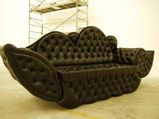 Canapé Tilt:  de style  par Le Couturier du Mobilier