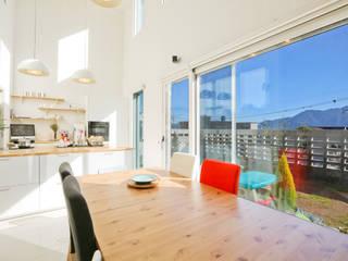 두 아이 아빠의 아파트 탈출기 [양산 범어리] 모던스타일 거실 by 한글주택(주) 모던