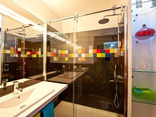 A casa de banho Kubic Architect Your Home Casas de banho modernas
