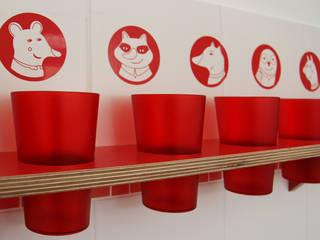 โดย Tuba Design โมเดิร์น ไม้ Wood effect