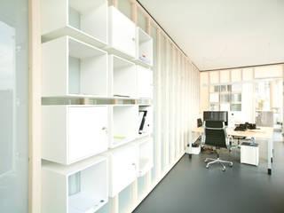 Tuba Design Edificios de oficinas Blanco
