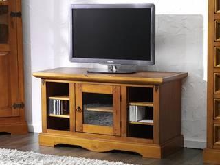 TV-Unterschrank Glory Pinie massiv Holz low board tv schrank Fernsehtisch:   von Moebelkultura.DE