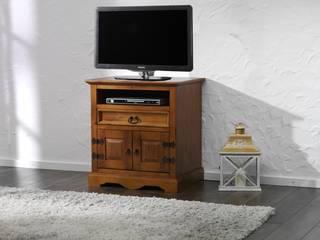 TV-Unterschrank Glory Pinie massiv Holz Moebel TV-Tisch Wohnzimmer Fernsehtisch:   von Moebelkultura.DE