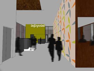 Nações Unidas Pela Cultura Locais de eventos modernos por Studio CSD Moderno
