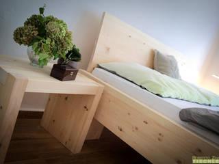 ห้องนอน by Roberto Zingerle Tischlerei