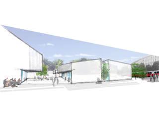 Fábrica da Música Escolas modernas por Studio CSD Moderno