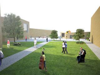 Aldeia da Música Escolas modernas por Studio CSD Moderno