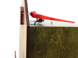 por Schwarzwald-Maria KG Moderno Madeira Acabamento em madeira