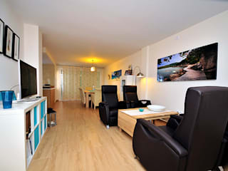 Ruang Keluarga oleh Novodeco, Modern
