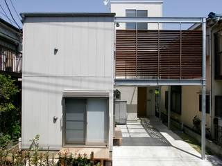 仲摩邦彦建築設計事務所 / Nakama Kunihiko Architects Будинки Бетон Сірий