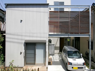 仲摩邦彦建築設計事務所 / Nakama Kunihiko Architects Modern houses Concrete Grey