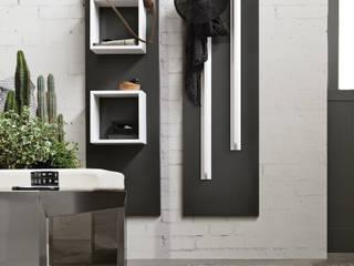 BandIt Design Ingresso, Corridoio & ScalePortabiti & Guardaroba Alluminio / Zinco Bianco