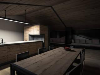Küche  / Hotelierwohnung in Neustift:  Esszimmer von snow.