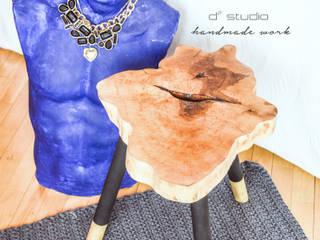 Coffee Table MICKY GOLD / Stolik kawowy MICKY GOLD: styl , w kategorii  zaprojektowany przez D2 Studio