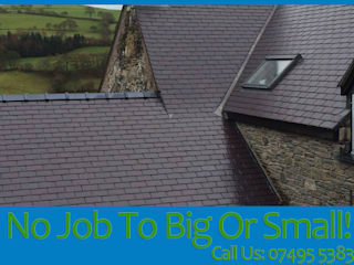 No Job To Big Or Small:  Houses by EI Roofing