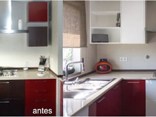 Uma decoração depurada Architect Your Home Cozinhas modernas